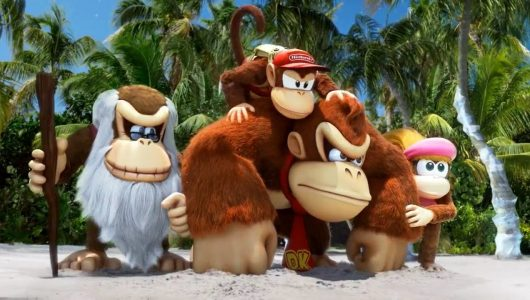 Donkey Kong Country Tropical Freeze video gameplay