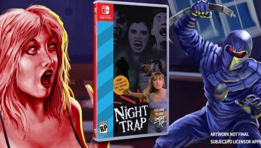 Night Trap 25th Anniversary Edition arriverà su Switch quest'estate
