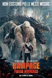 Rampage Furia Animale immagine Cinema locandina
