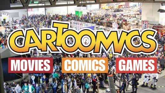cartoomics 2018 speciale apertura