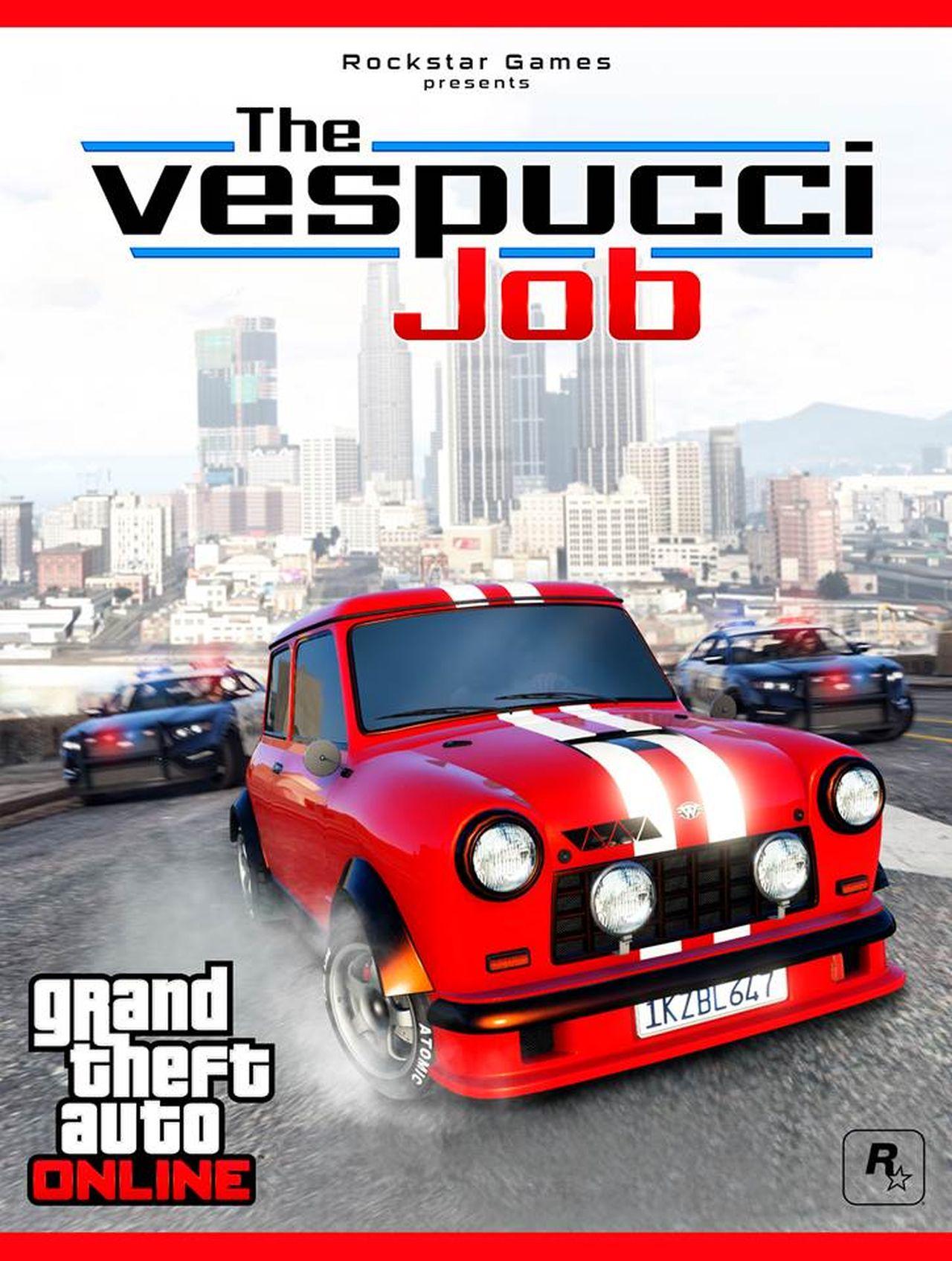 GTA Online: disponibile The Vespucci Job e tre nuovi veicoli