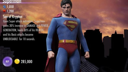Injustice 2 per mobile celebra l'80° anniversario di Superman