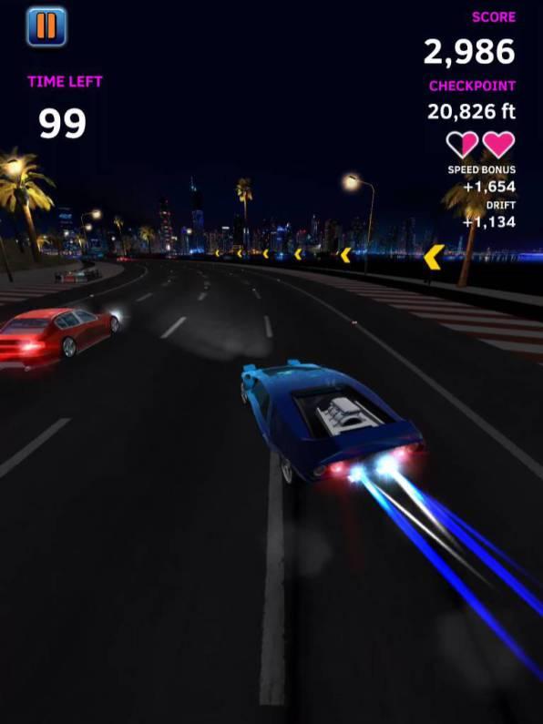 night driver speciale atari