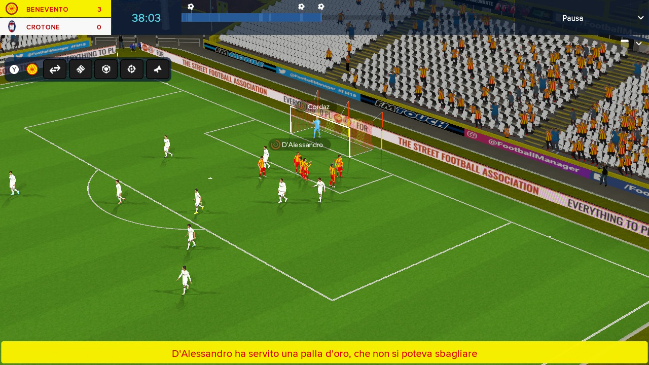 Football Manager Touch 2018 Recensione Nintendo Switch | TGM