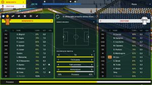 Football Manager Touch 2018 Nintendo Switch recensione
