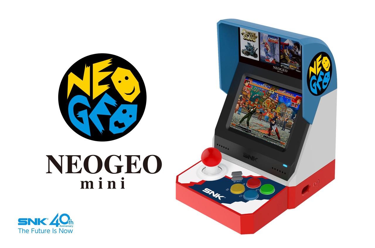 Neo Geo Mini ha una data d'uscita giapponese, svelata la lineup nipponica