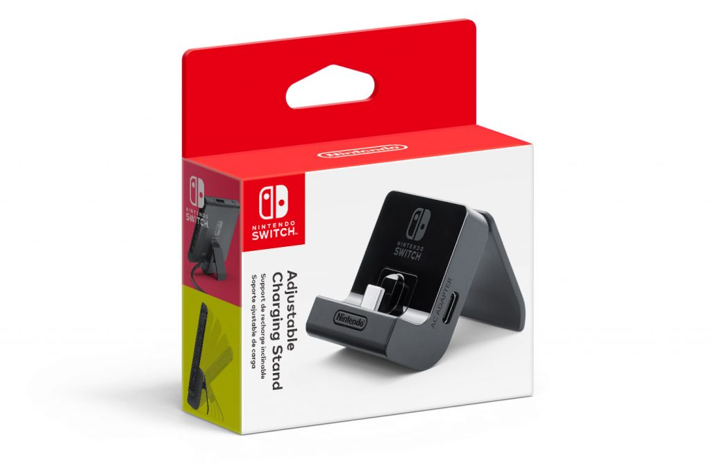 Nintendo Switch stand ricarica