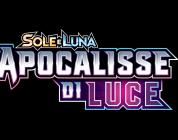 Pokémon GCC Sole e Luna: disponibile oggi Apocalisse di Luce