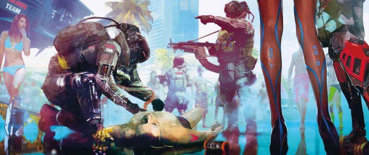 Cyberpunk 2077 streaming