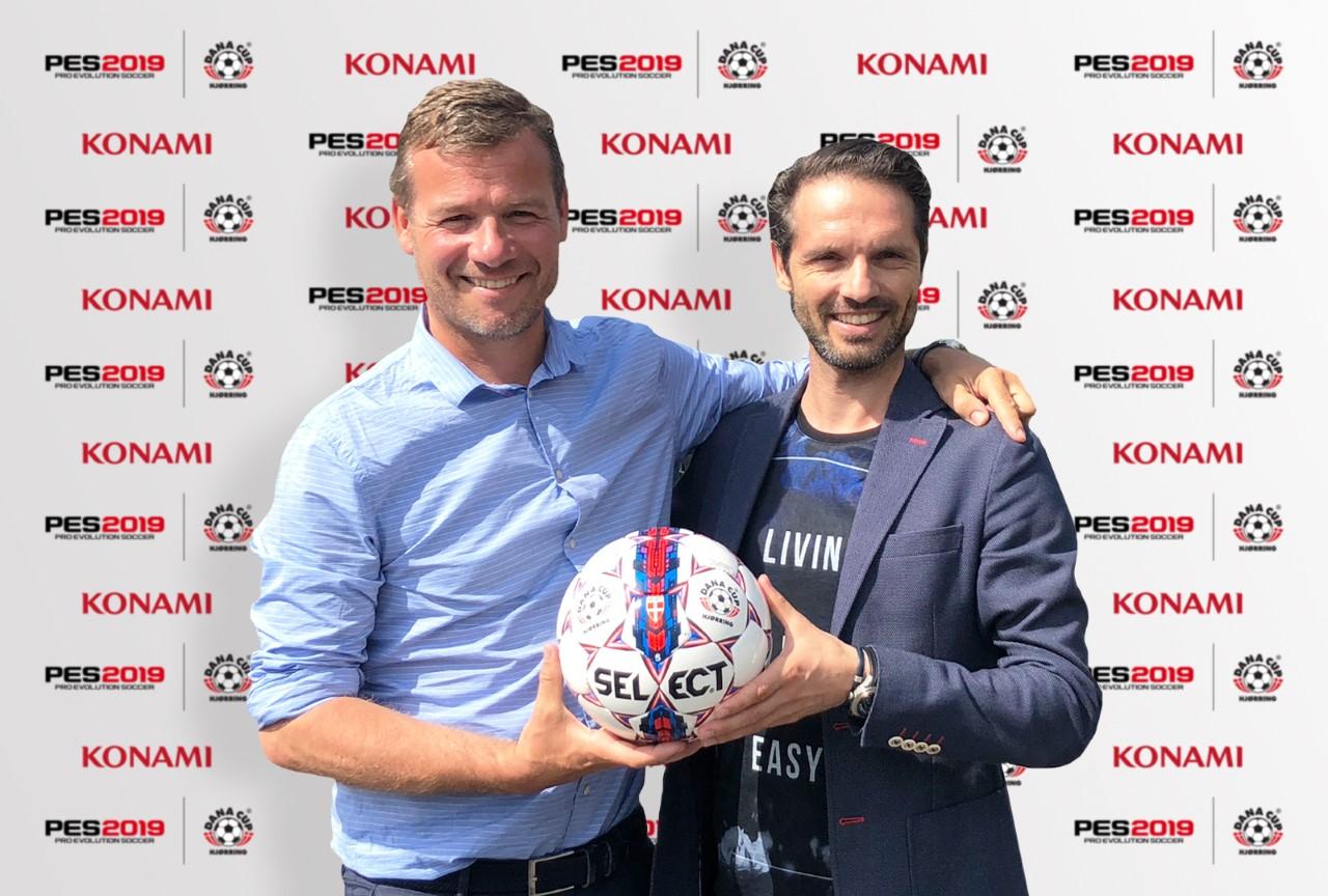 Konami rinnova oggi la sponsorizzazione della Dana Cup