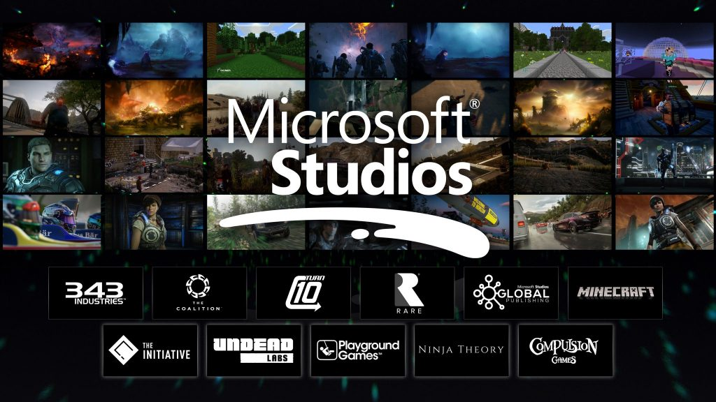 Microsoft studi first party