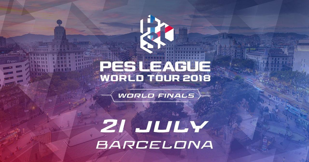 PES 2018: le World Finals della PES League 2018 si terranno a Barcellona