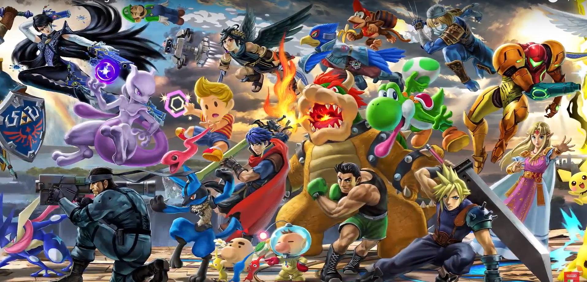 super smash bros ultimate vendite