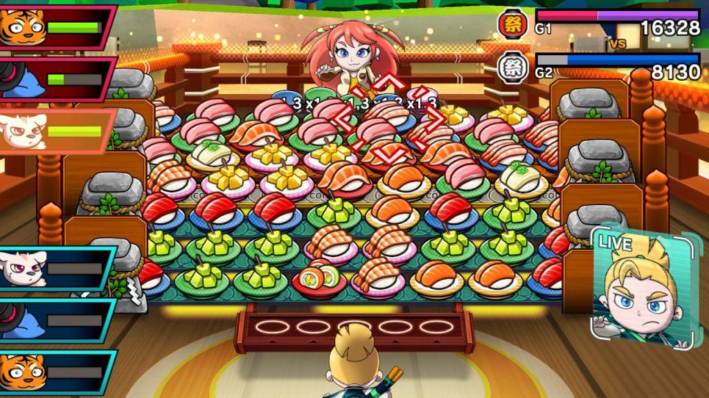 Sushi Striker Recensione