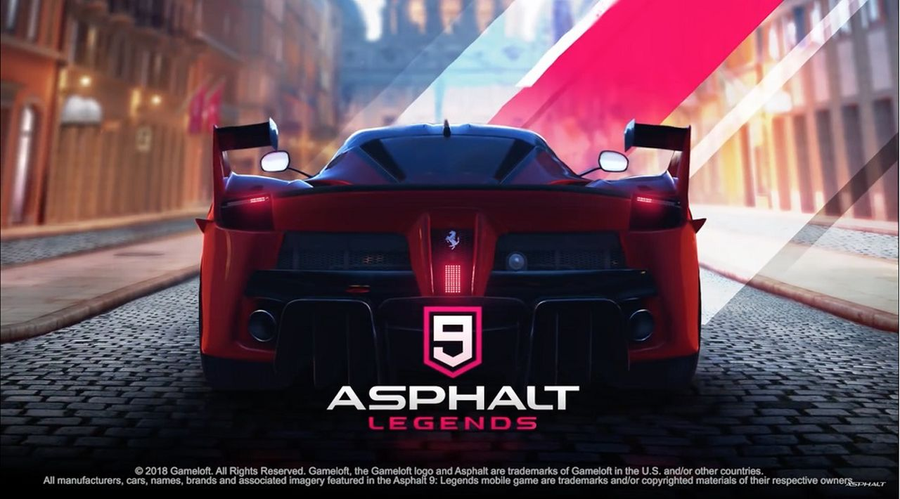 Asphalt 9 Legends è in arrivo su smartphone e tablet quest'estate