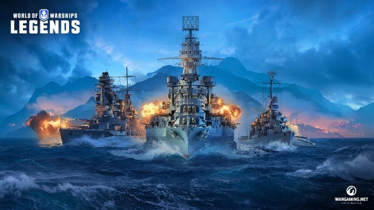 World of Warships Legends annunciato per PlayStation 4 e Xbox One