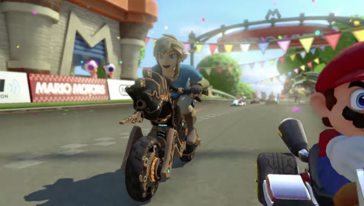 Mario Kart 8 Deluxe: un nuovo update aggiunge contenuti legati a Breath of the Wild