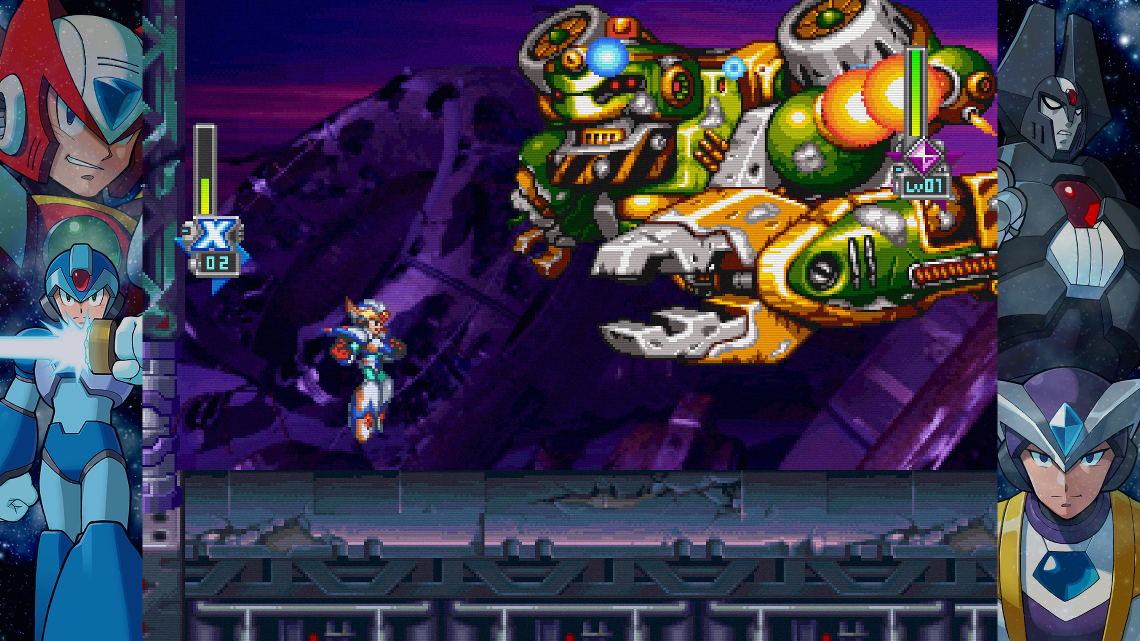 Mega Man X Legacy Collection Recensione