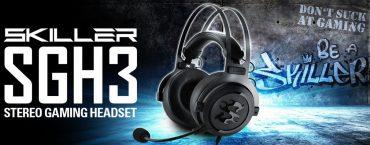 Sharkoon presenta le nuove cuffie da gaming Skiller SGH3