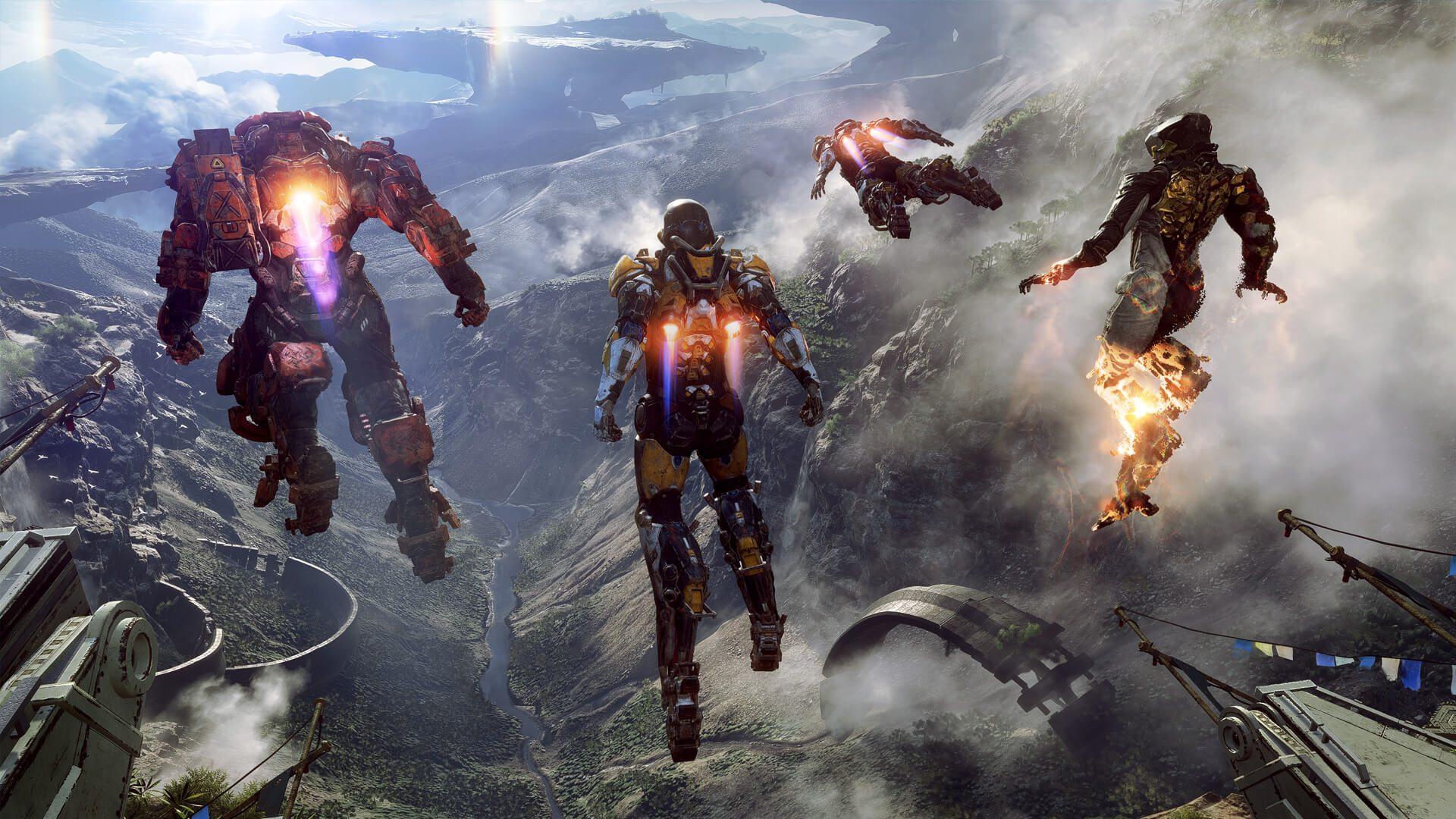 Anthem: svelate nel dettaglio le quattro classi giocabili