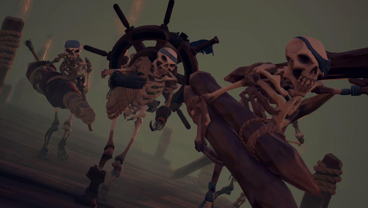 Sea of Thieves: disponibile oggi la nuova espansione Cursed Sails