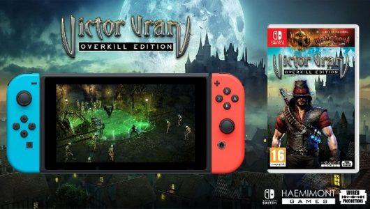 Victor Vran Overkill Edition per Switch si presenta con un nuovo trailer
