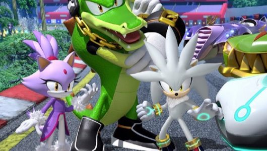 Team Sonic Racing: si aggiungono al roster Vector, Silver e Blaze