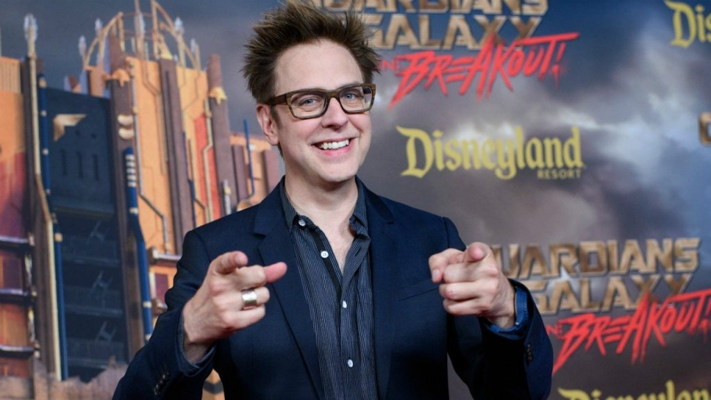 guardiani della galassia 3 James Gunn