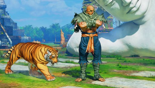Street Fighter V Arcade Edition Sagat
