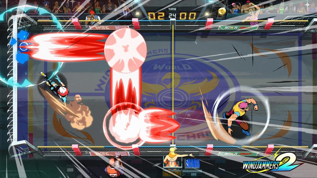 Windjammers 2 trailer gameplay