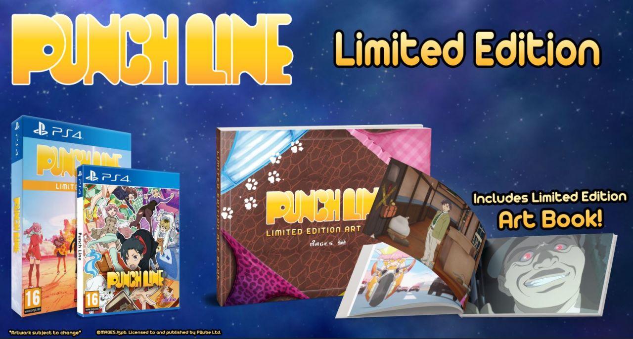Punch Line arriverà in Europa e Nord America su PC, PS4 e PS Vita