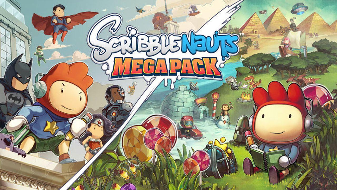 Scribblenauts Mega Pack annunciato per PS4, Xbox One e Switch