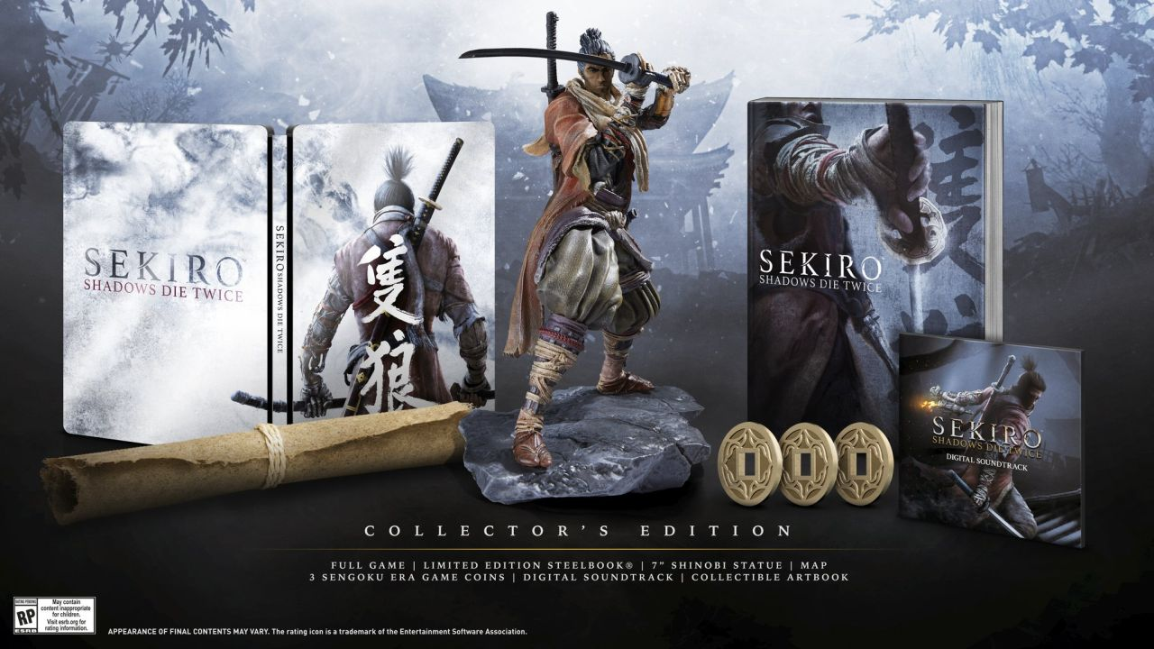 Sekiro ha ora una data d'uscita, svelata la Collector's Edition