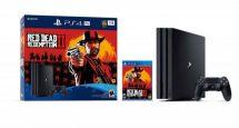 Red Dead Redemption II: annunciato un bundle per PS4 Pro