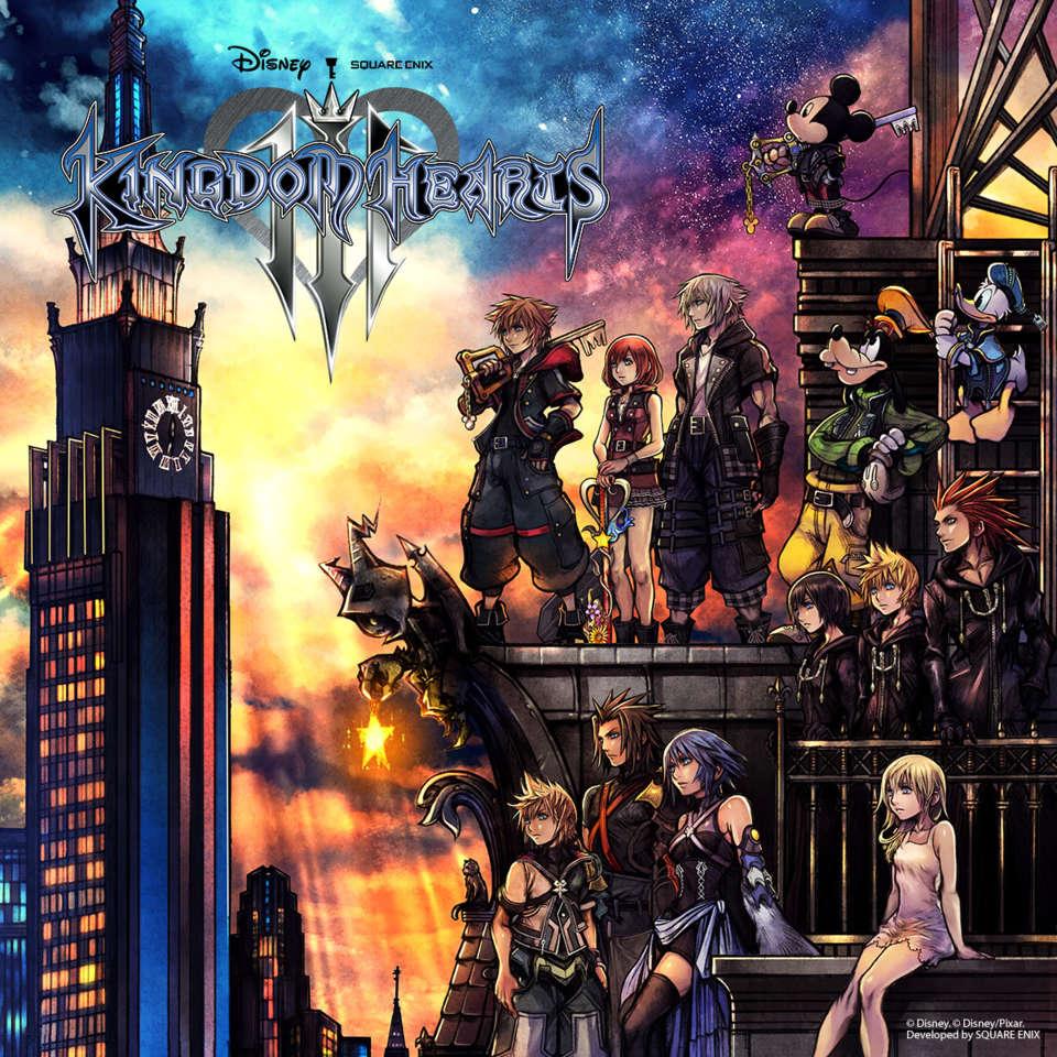 Kingdom Hearts III copertina