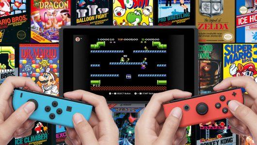 Nintendo Switch Online nes novembre