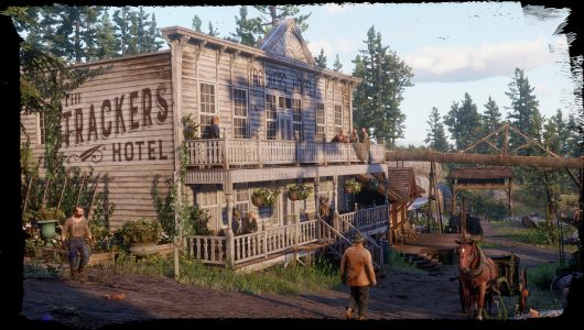 Red Dead Redemption 2 città