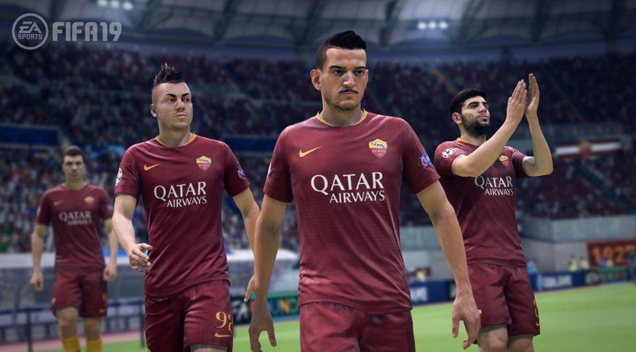 FIFA 19: EA Sports diventa partnership ufficiale di A.S. Roma