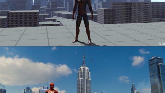 Spider-Man: Insomniac ha pubblicato alcuni screen sullo sviluppo del gioco