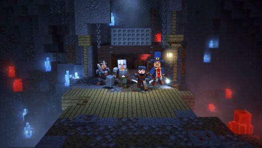 Minecraft Dungeons trailer lancio
