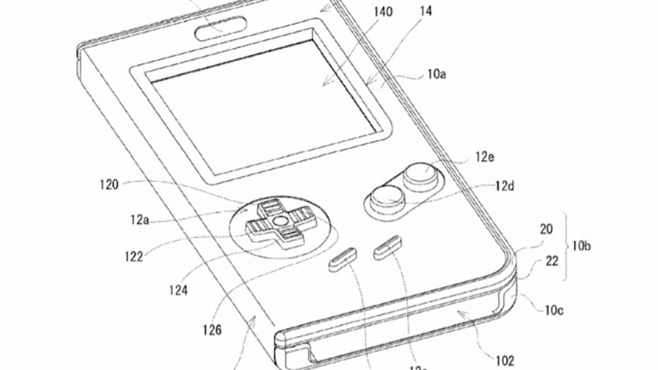 Nintendo sta brevettando una cover funzionante a forma di Game Boy