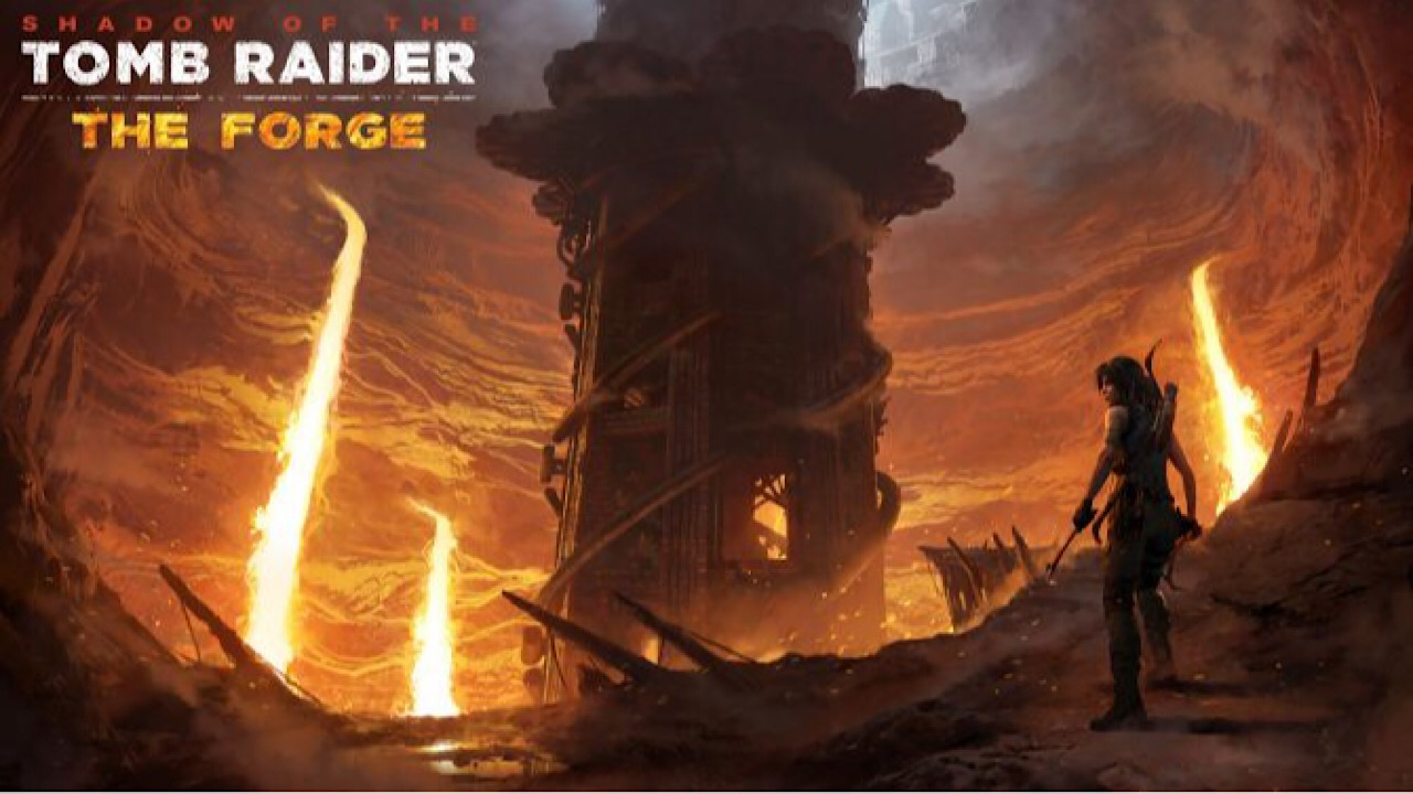 "Shadow of the Tomb Raider: annunciato il primo DLC ""The Forge"""