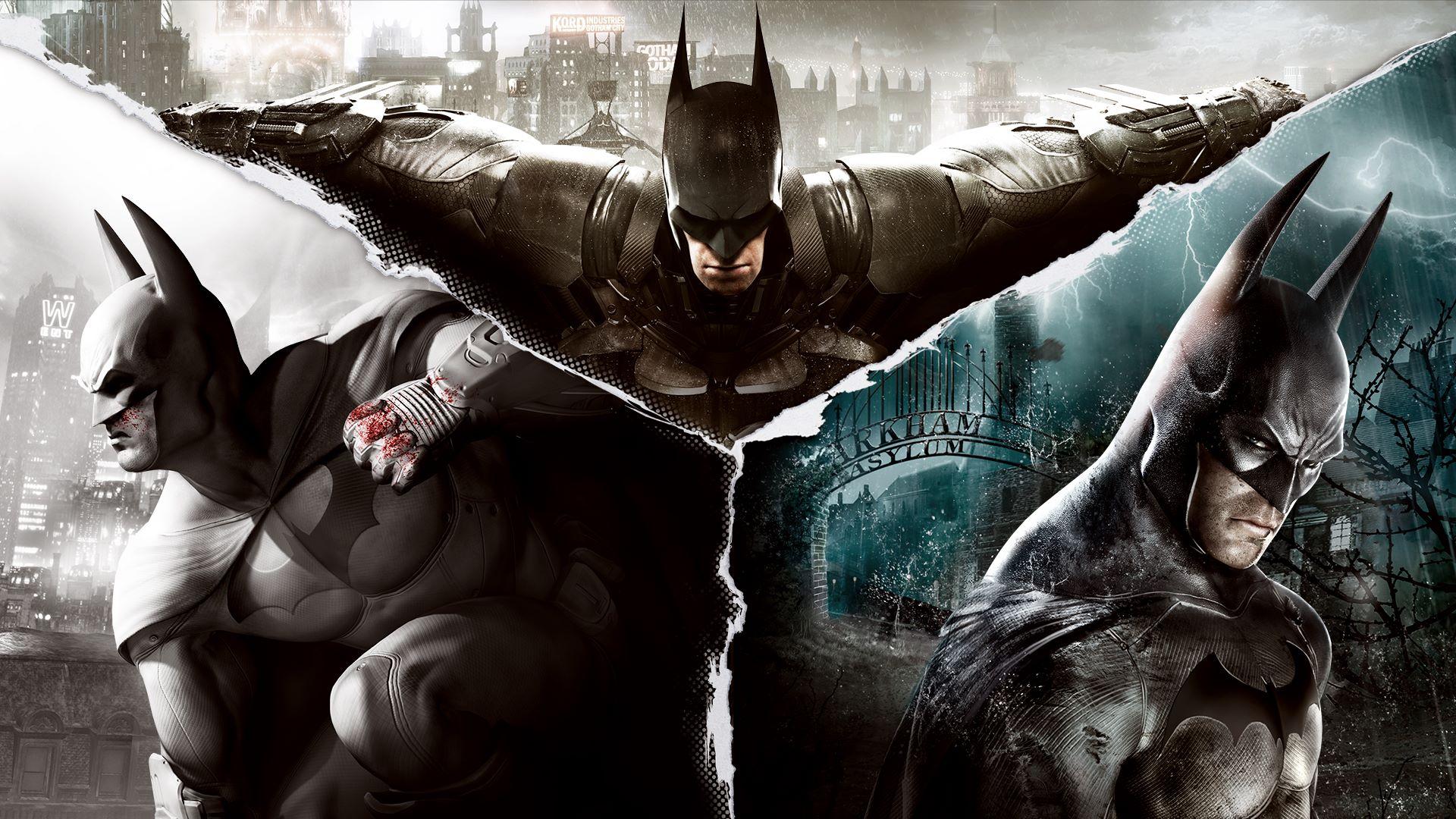 epic games store Batman Arkham Collection