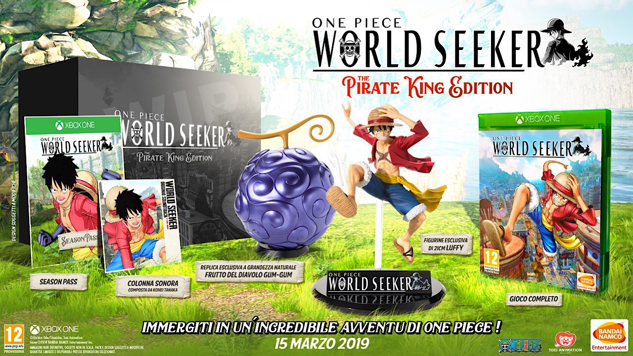 one piece world seeker data uscita pirate king edition