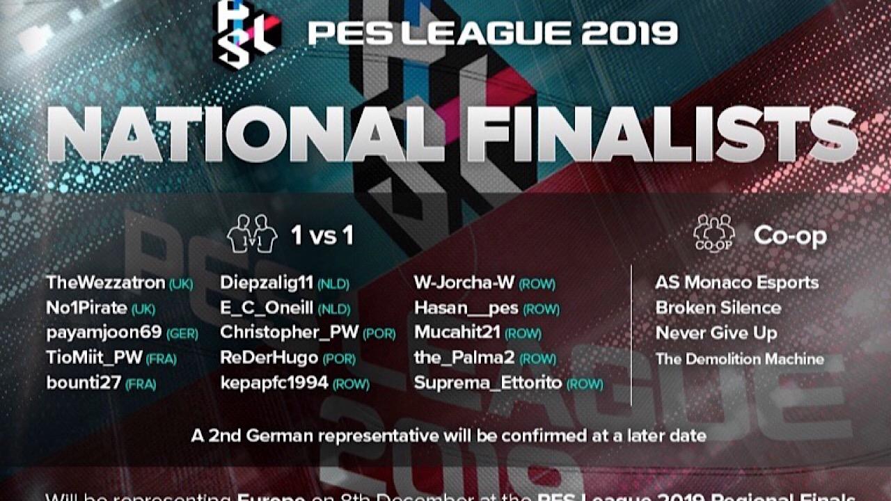 pes 2019 pes league regional finals