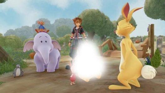 Kingdom Hearts III Winnie the Pooh Cina