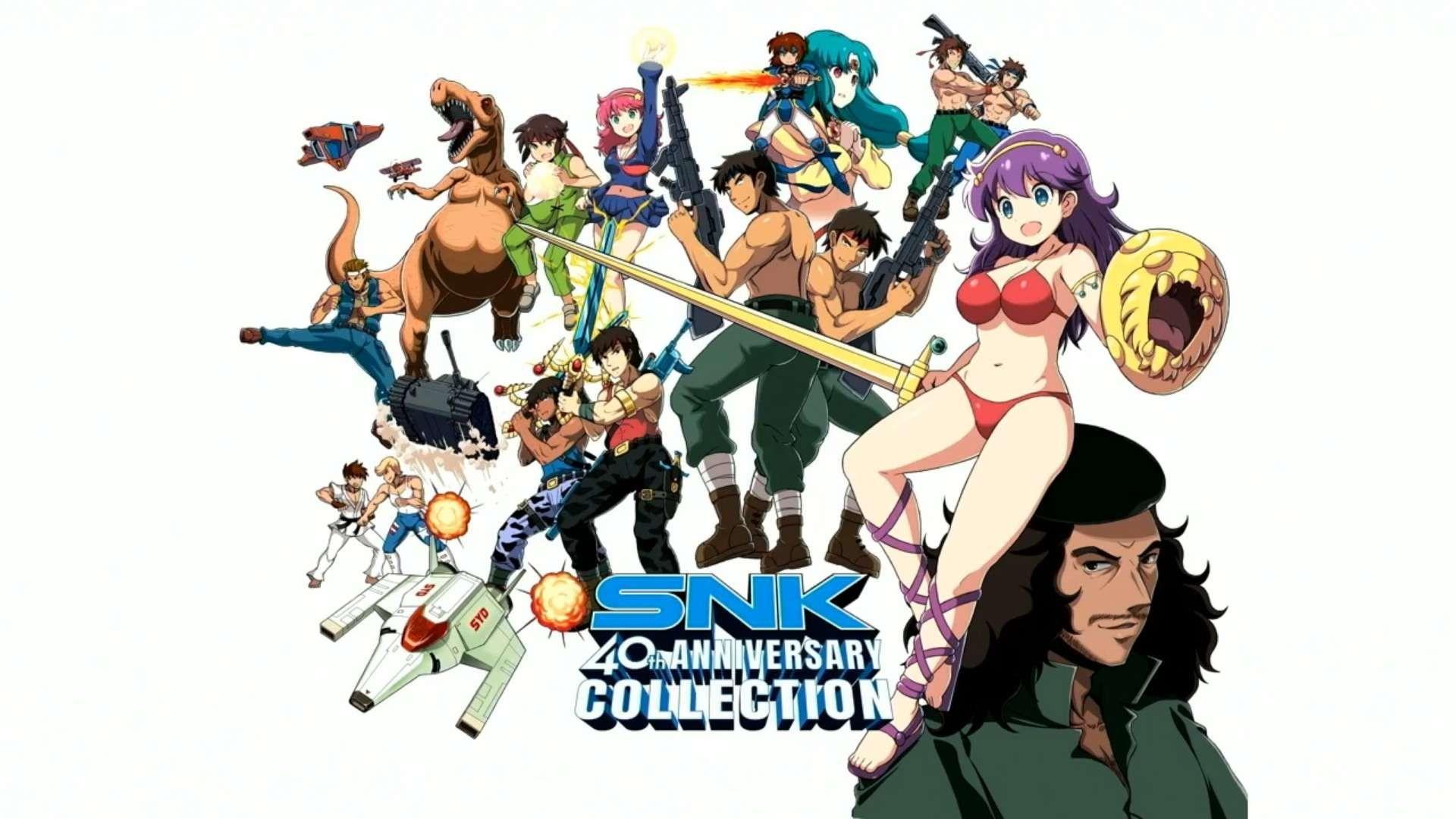 SNK 40th Anniversary Collection recensione Switch apertura