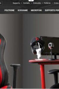 arozzi pro gaming gear sito web