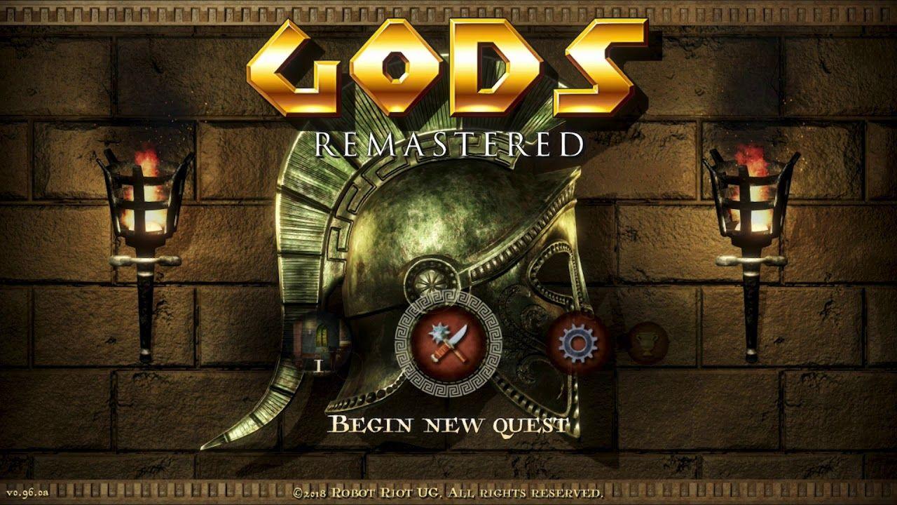 Gods Remastered: data d'uscita, piattaforme e prezzo di lancio