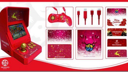 neogeo mini christmas limited edition snk